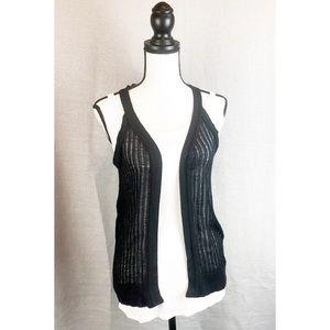 Absolutely Creative sleeveless sweater shrug S